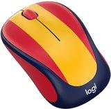 Logitech M238 rood/geel Draadloze muis met USB dongel_