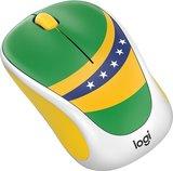 Logitech M238 Groen/Geel Draadloze muis met USB dongel_