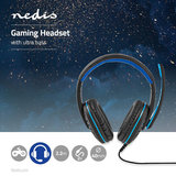 Nedis Xyawyon GHST100BK Stereo Gaming Ultra Bass Headset_