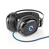 Nedis Axilor GHST300BK Stereo Gaming Ultra Bass Headset_