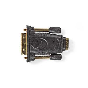 DVI-D 24+1-Pins Male - HDMI™ Female | Zwart