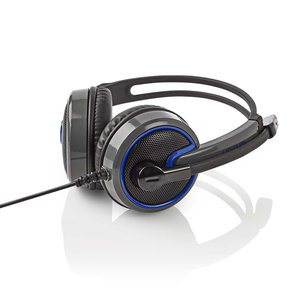 Nedis Wralon GHST200BK Stereo Gaming Ultra Bass Headset
