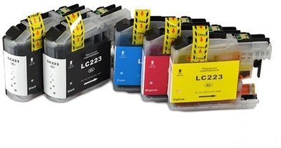 Flower multipack(5) voor Brother LC223 XL