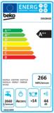 Beko DIN28426 inbouwvaatwasser BLDC 44dB A++ 5 jaar garantie_
