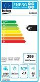 Beko DIN26410 inbouwvaatwasser A+ 48dB RVS bodem 5 jaar garantie_