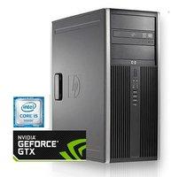 HP Compaq 8200 elite - 8GB RAM - 250GB SSD + 2000GB HDD - GTX1650 - Gebruikt