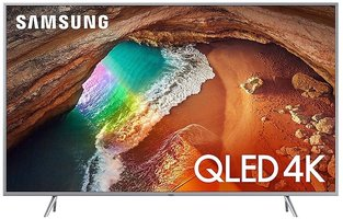 Samsung QLED QE49Q67R Zilver Smart TV netflix