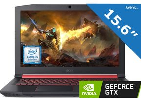 Acer Nitro 5 AN515-52-53H0 - GAMING - Intel® Core™ i5-8300H - NVIDIA® GeForce™ GTX1050 4GB