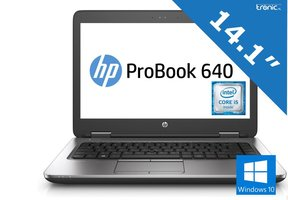 HP Probook 640 G1 - Intel Core i5 - 4GB RAM - 128GB SSD - Gebruikt