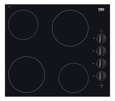 Beko HIC64100 keramische kookplaat met knoppen