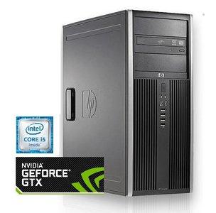 HP Compaq 8200 Elite - Intel® Core™ i5- 8GB RAM - 250GB SSD - NVIDIA® GeForce™ GTX1650 OC - Gebruiktt
