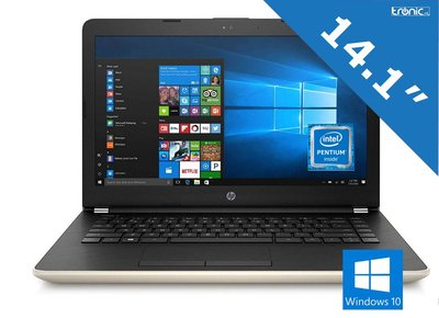 HP Pavilion 14-bs047na - Intel® Pentium™ N3710 - 128GB SSD - Goud - UK